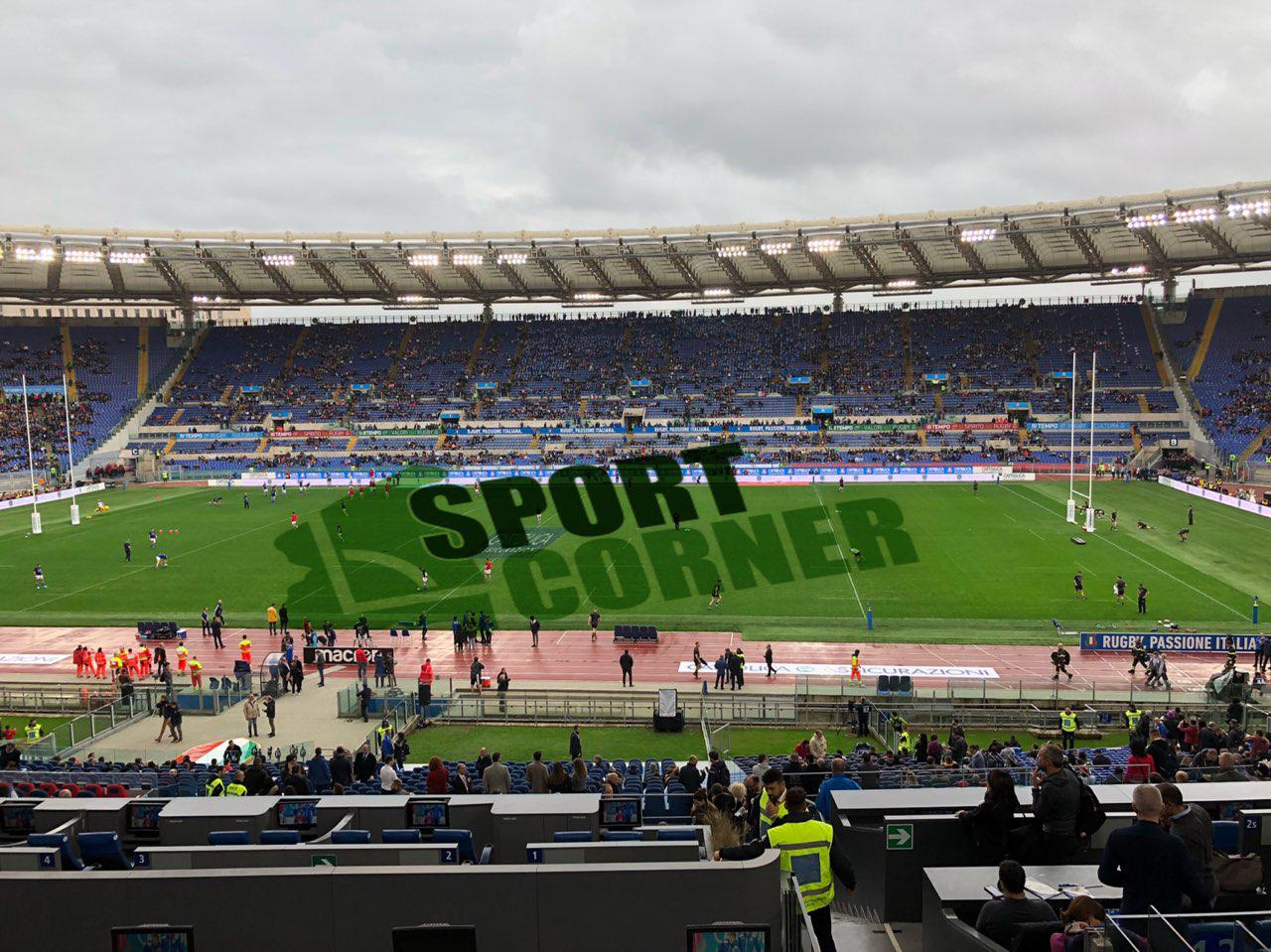 Rugby Test Match, Italia-All Blacks 3-66. Pesante sconfitta all'Olimpico