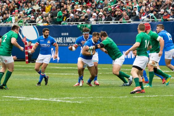Rugby Test Match, a Chicago l'Irlanda travolge l'Italia 54-7