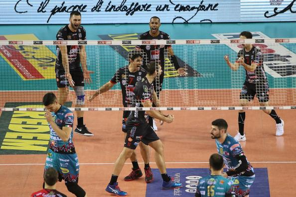 Superlega Volley finale scudetto, la Lube Civitanova pareggia la serie: Perugia sconfitta 3-1