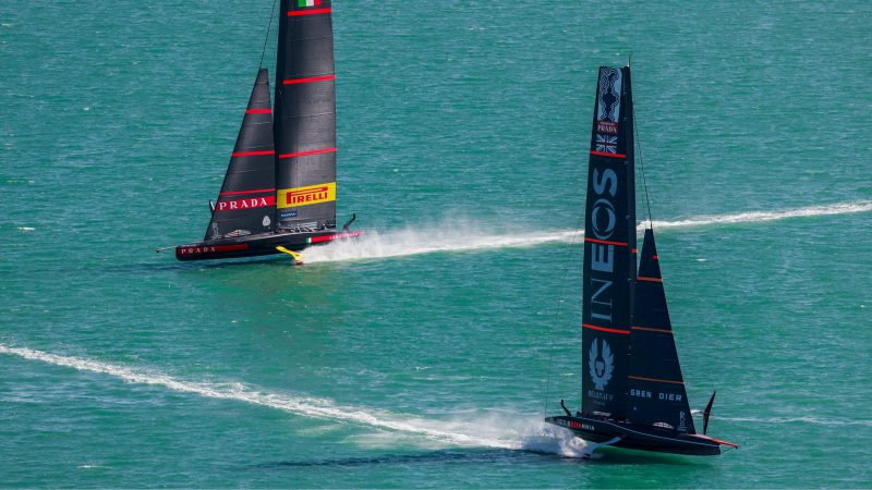 Vela, Prada Cup | Tutto pronto per la finale Luna Rossa vs Ineos Team UK