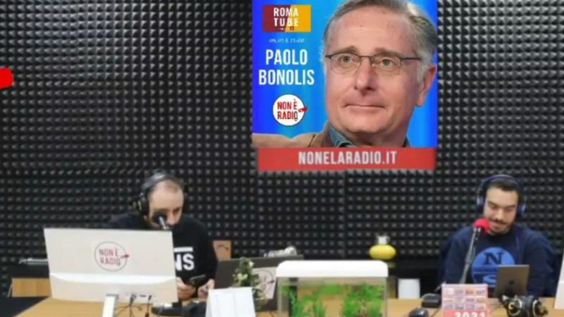 Roma-Inter, l'intervento di Paolo Bonolis su Non è la Radio-RomaTube (audio e video)